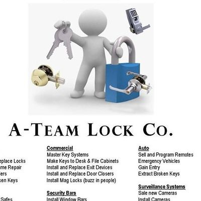 A-Team lock & Security Silver Spring, MD Thumbtack