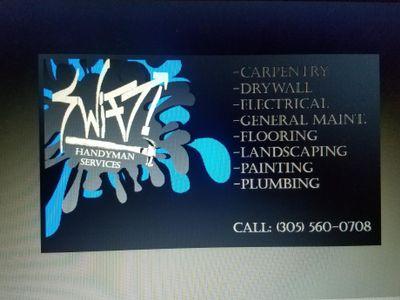 Swift Handyman Services Plant City, FL Thumbtack