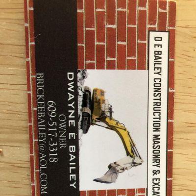 D E Bailey construction LLC Medford, NJ Thumbtack