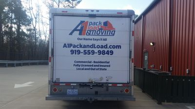 A1 Pack Load and Moving Raleigh, NC Thumbtack