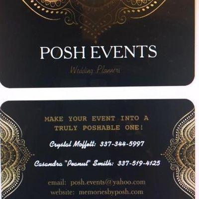 POSH EVENTS Saint Martinville, LA Thumbtack