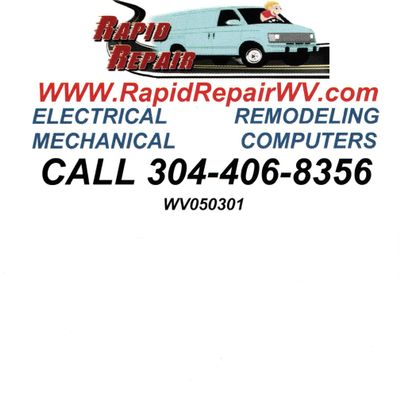 Rapid Repair Weston, WV Thumbtack
