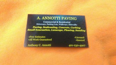 A.Annotti Paving Pawtucket, RI Thumbtack