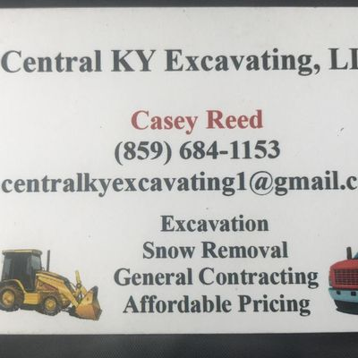 Central ky excavating - Lexington, KY