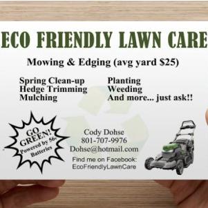 Eco Friendly Lawn Care Centerville, UT Thumbtack
