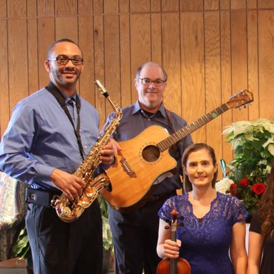 Jenny's Music Studio Professional Musicians - All Styles Performed - Classical / Jazz / Christian / Country / Rock - Solo / Duet / Trio / Quartet / Band - Violin, Viola, Cello, Guitar, Piano, Voice or Saxophone Trinity, NC Thumbtack