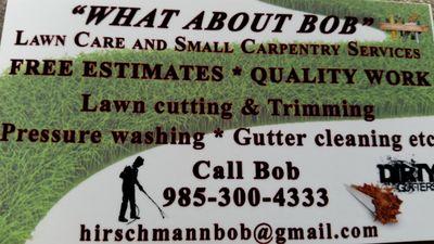 What About Bob? Gulfport, MS Thumbtack