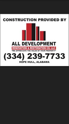 ALL Development LLC Hope Hull, AL Thumbtack