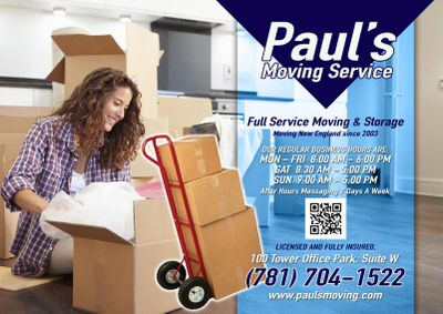 Paul's Moving Service Woburn, MA Thumbtack