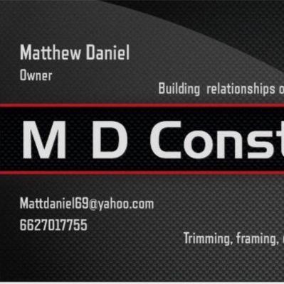 M D Construction Batesville, MS Thumbtack