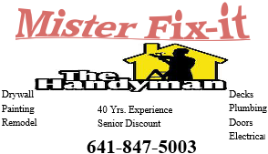 Mr. Fix-it Eldora, IA Thumbtack