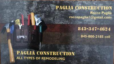 Paglia construction Conway, SC Thumbtack