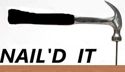 Nail'd It Springfield, MO Thumbtack