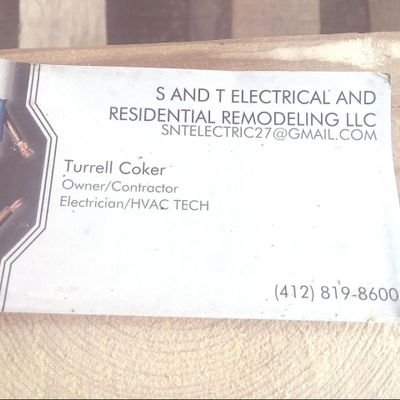 SNTELECTRIC AND RESIDENTIAL REMODELING Pittsburgh, PA Thumbtack