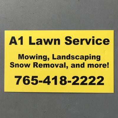 A1 Lawn Service Waynetown, IN Thumbtack