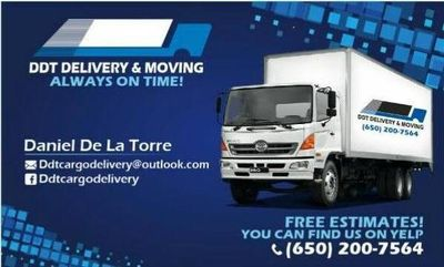 Ddt delivery and moving services San Mateo, CA Thumbtack