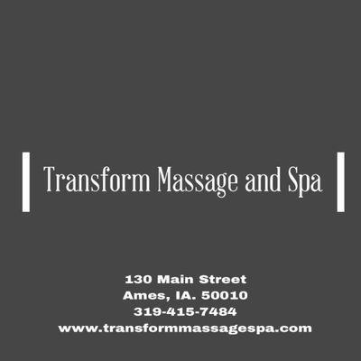 Transform Massage and Spa Ames, IA Thumbtack