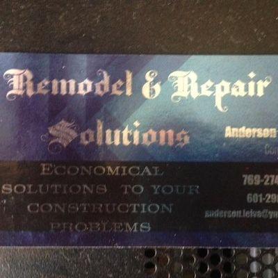 Remodel & Repair Solutiions Pulaski, MS Thumbtack