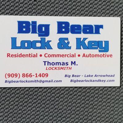 Big Bear Lock and Key Big Bear Lake, CA Thumbtack