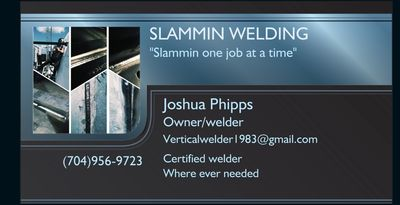 Slammin welding Indian Trail, NC Thumbtack
