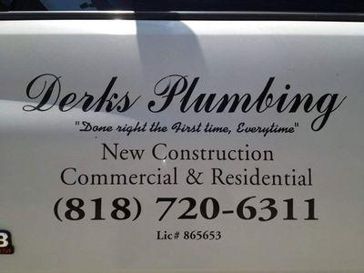 Derks Plumbing Los Angeles, CA Thumbtack