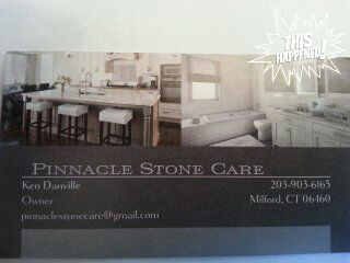 Pinnacle stone care polishing and restoration Stamford, CT Thumbtack