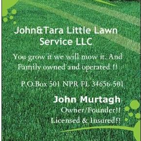 John Little Lawn Care LLC New Port Richey, FL Thumbtack