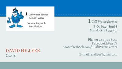 1 Call Well Service North Port, FL Thumbtack