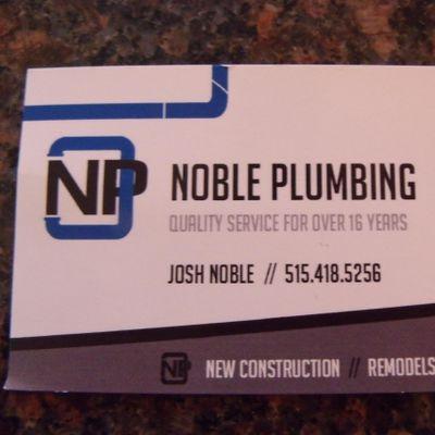 Noble Plumbing Des Moines, IA Thumbtack