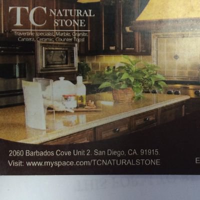 TC Natural Stone San Diego, CA Thumbtack