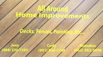 All Around Home Improvement Coldwater, MS Thumbtack