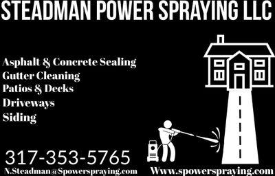 Steadman Power Spraying LLC Zionsville, IN Thumbtack
