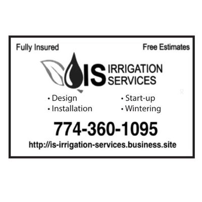 IS Irrigation Services Stoughton, MA Thumbtack