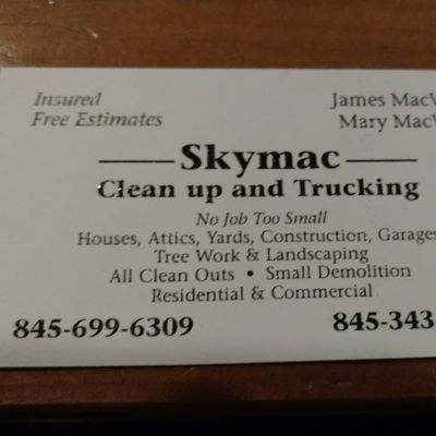 SkyMac Cleanup and Trucking Middletown, NY Thumbtack