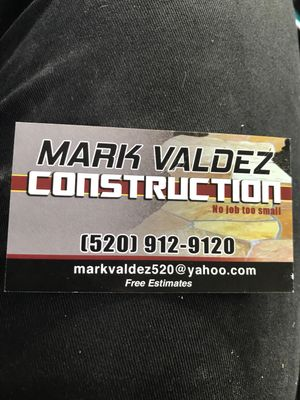 Mark Valdez Tucson, AZ Thumbtack
