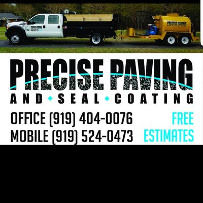 Precise Paving and Sealcoating Raleigh, NC Thumbtack