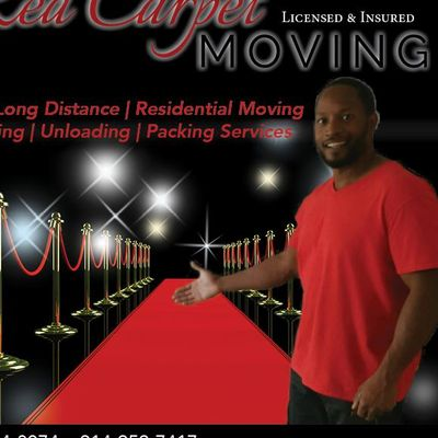 Red Carpet Moving Co... Dallas, TX Thumbtack