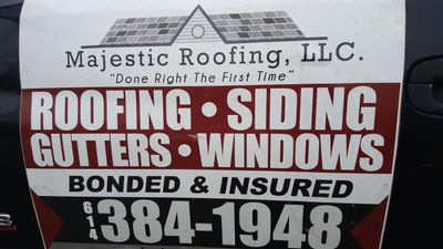 Majestic Roofing, LLC Columbus, OH Thumbtack