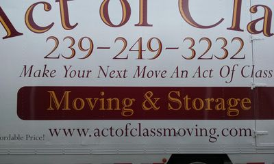 Act of Class Moving & Storage Fort Myers, FL Thumbtack
