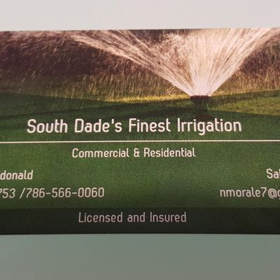 A. Macdonald Irrigation Corp Hialeah, FL Thumbtack