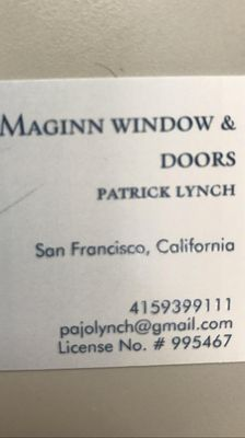 Maginn windows and doors San Francisco, CA Thumbtack