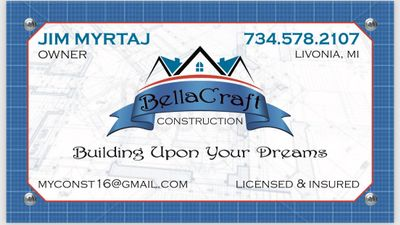 BellaCraft remodeling & construction Livonia, MI Thumbtack