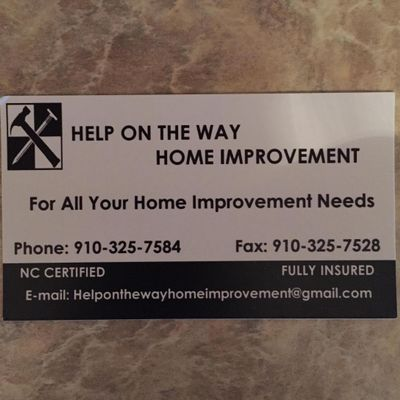 Help On The Way Home Improvement, LLC Hubert, NC Thumbtack