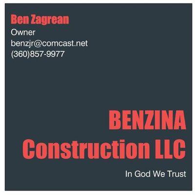 BENZINA CONSTRUCTION LLC Clackamas, OR Thumbtack