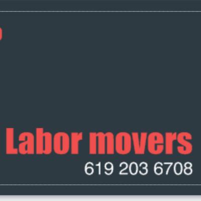 Labor movers San Diego, CA Thumbtack