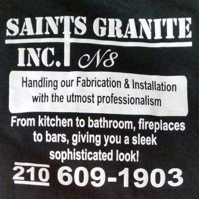 Saints Granite Somerset, TX Thumbtack
