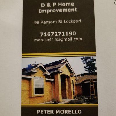 D&P Home Improvement Lockport, NY Thumbtack