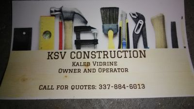 KSV Construction Sulphur, LA Thumbtack
