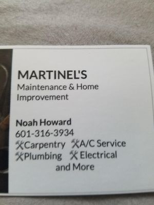 Martinels Maintenance and Home Improvement Jackson, MS Thumbtack