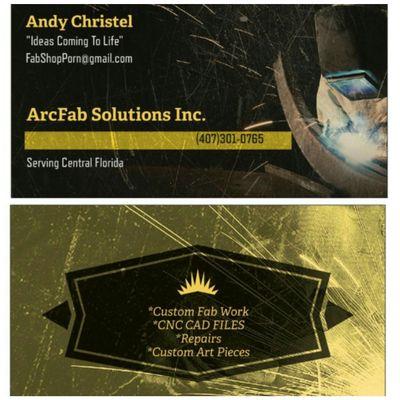 ArcFab Solutions Inc Kissimmee, FL Thumbtack